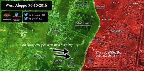 Quan doi Syria gianh lai duoc mot quan phia Tay Aleppo - VIDEO - Anh 2