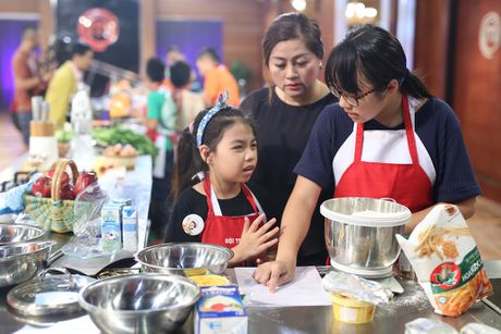 Gap su co, Gia Huy nuc no roi khoi Master chef nhi - Anh 4