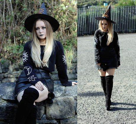 10 goi y phoi do hoa trang Halloween 2016 don gian nhung an tuong nhat - Anh 8