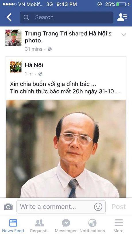 Nguoi ham mo khoc thuong truoc thong tin nghe si Pham Bang qua doi - Anh 2