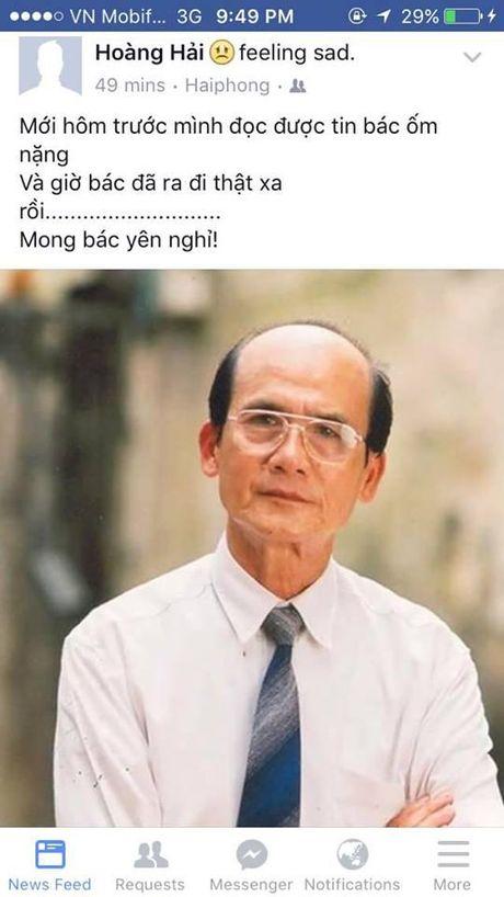 Nguoi ham mo khoc thuong truoc thong tin nghe si Pham Bang qua doi - Anh 4