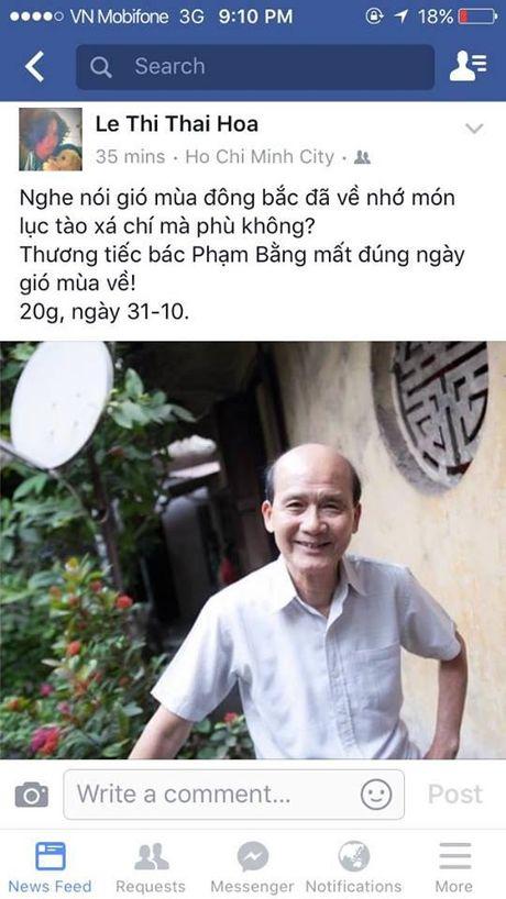 Nguoi ham mo khoc thuong truoc thong tin nghe si Pham Bang qua doi - Anh 6