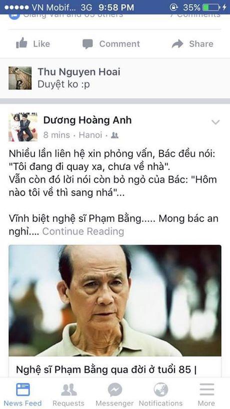 Nguoi ham mo khoc thuong truoc thong tin nghe si Pham Bang qua doi - Anh 8