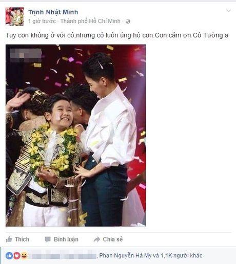 Quan quan The Voice Kids Nhat Minh va loi nhan nhu dac biet toi HLV Vu Cat Tuong - Anh 1