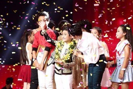 Quan quan The Voice Kids Nhat Minh va loi nhan nhu dac biet toi HLV Vu Cat Tuong - Anh 2