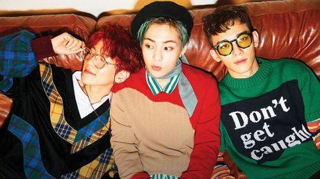 EXO-CBX 'nhe nhang' dua ca 5 ca khuc trong album thong tri BXH - Anh 4