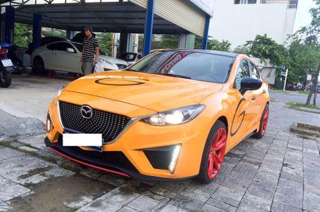 Mazda3 thay ao vang doc nhat Viet Nam - Anh 2