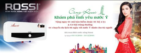 Cung Rossi kham pha tinh yeu nuoc Y - Anh 1