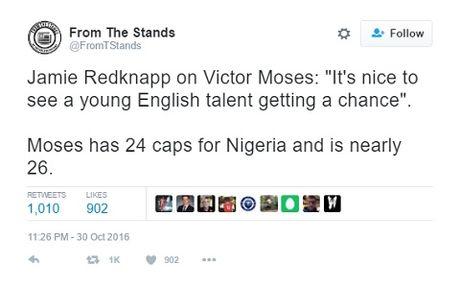 Jamie Redknapp bi che nhao du doi vi goi Victor Moses la 'tai nang tre nguoi Anh' - Anh 11