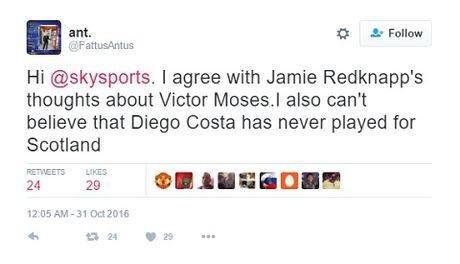 Jamie Redknapp bi che nhao du doi vi goi Victor Moses la 'tai nang tre nguoi Anh' - Anh 3
