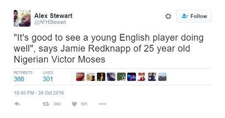 Jamie Redknapp bi che nhao du doi vi goi Victor Moses la 'tai nang tre nguoi Anh' - Anh 4