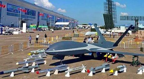 Su that suc manh UAV tan cong Trung Quoc vua ra mat - Anh 1