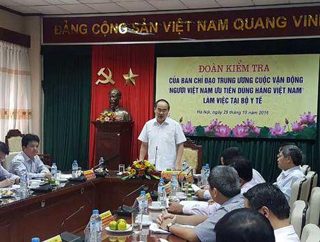 Dam bao chat luong thuoc noi la uu tien hang dau - Anh 1