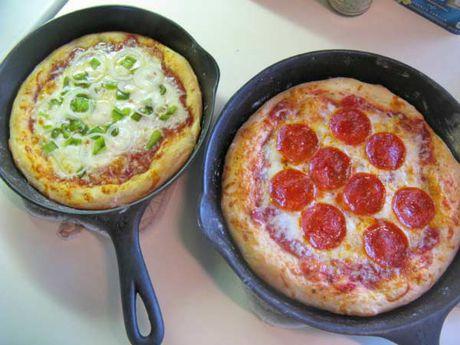Lam Pizza don gian khong can lo nuong - Anh 7