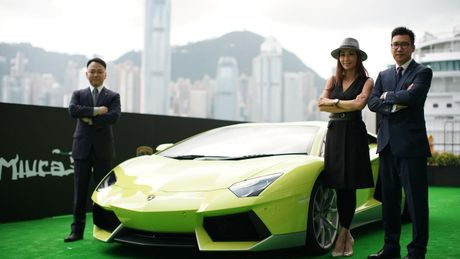 Ngam Lamborghini Aventador mau ran xanh cuc 'doc' - Anh 2