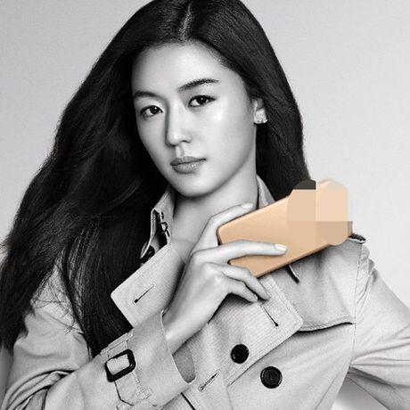 Co nang ngo ngao Jeon Ji Hyun van dung Top quang cao - Anh 1
