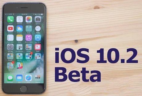 Vua phat hanh iOS 10.1, Apple da thu nghiem iOS 10.2 beta - Anh 1