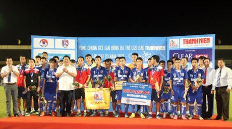 U21 Ha Noi T&T tai ngo U21 Sanna Khanh Hoa tai chung ket - Anh 2