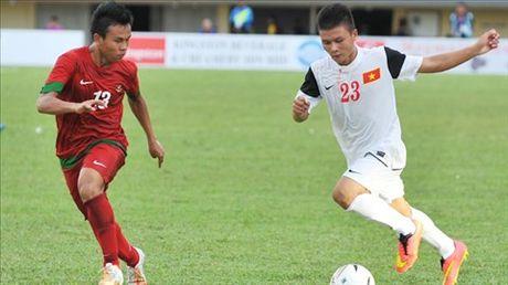 Sao U19 Viet Nam hoi quan cung U21 Ha Noi T&T - Anh 2