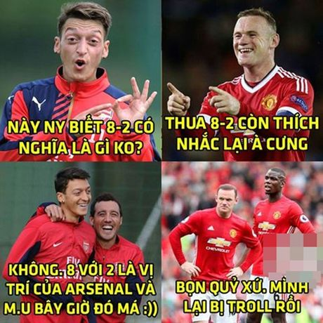 Anh che: Phao thu goi lai 'noi dau' 8-2 cua FC Thuoc Nhuom; Bi quyet giup Beo 'len dinh' the gioi - Anh 1