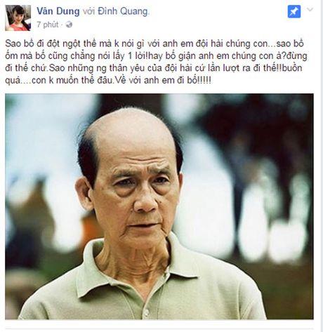 Sao Viet tiec thuong nghe si Pham Bang qua doi - Anh 2