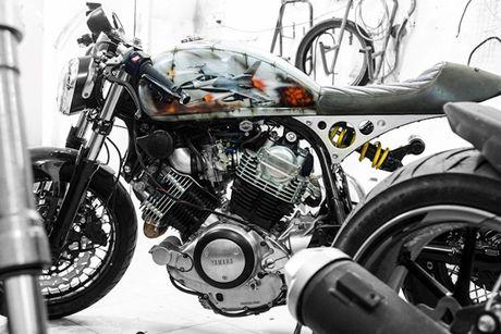 'Xe no' Yamaha XV750 do cafe racer cuc doc tai Sai Gon - Anh 2