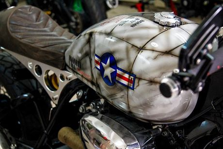 'Xe no' Yamaha XV750 do cafe racer cuc doc tai Sai Gon - Anh 3
