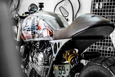 'Xe no' Yamaha XV750 do cafe racer cuc doc tai Sai Gon - Anh 4