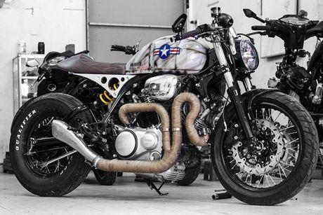 'Xe no' Yamaha XV750 do cafe racer cuc doc tai Sai Gon - Anh 5