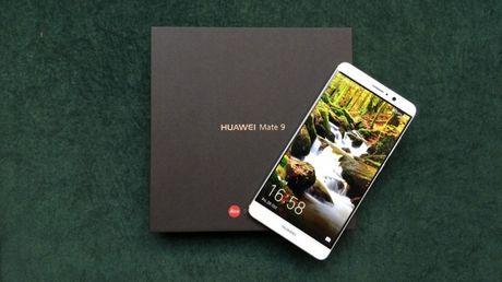 Ro ri hinh anh thuc te cua Huawei Mate 9 - Anh 1