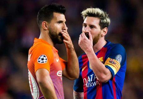 Vi sao Messi khong the phoi hop voi Aguero - Anh 1