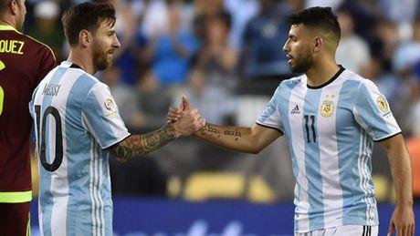 Vi sao Messi khong the phoi hop voi Aguero - Anh 2