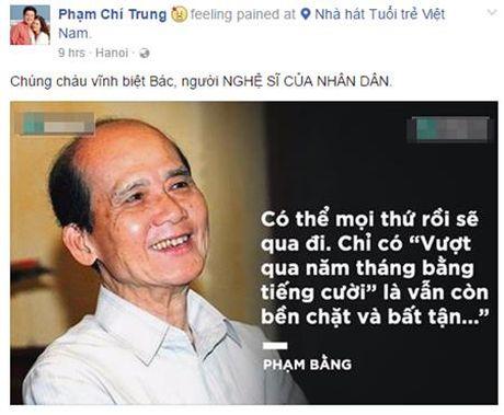 Nghe si Viet bang hoang truoc su ra di cua NSUT Pham Bang - Anh 2
