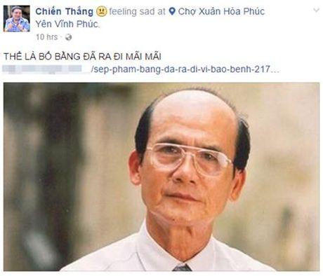 Nghe si Viet bang hoang truoc su ra di cua NSUT Pham Bang - Anh 9
