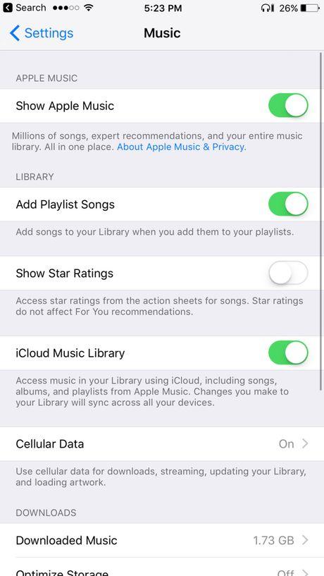Apple ra mat ban cap nhat iOS 10.2 phien ban beta - Anh 10