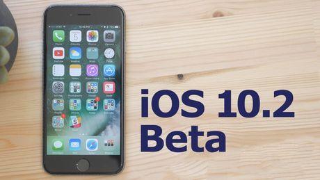 Apple ra mat ban cap nhat iOS 10.2 phien ban beta - Anh 1