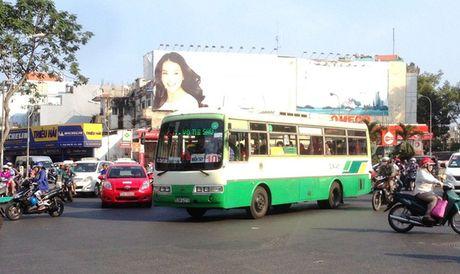 TP.HCM de xuat cho xe bus chay vao duong xe may gio cao diem - Anh 1
