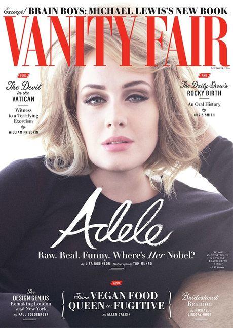 Adele khoe ve man ma tren tap chi Vanity Fair - Anh 2