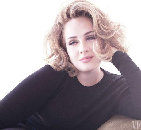 Adele khoe ve man ma tren tap chi Vanity Fair - Anh 3