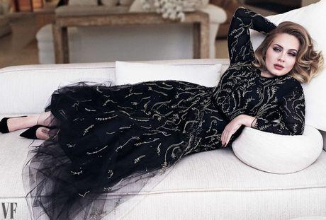 Adele khoe ve man ma tren tap chi Vanity Fair - Anh 5