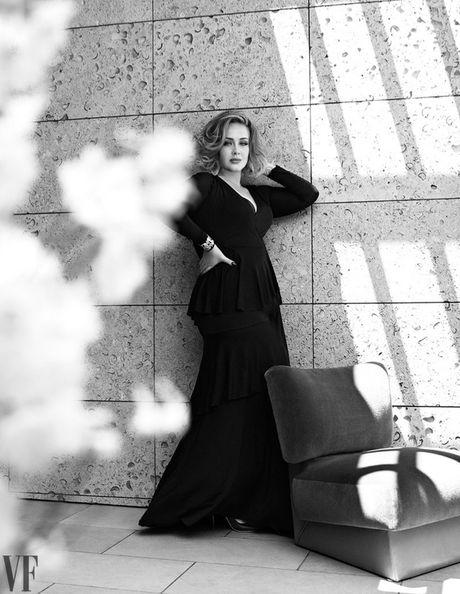 Adele khoe ve man ma tren tap chi Vanity Fair - Anh 7