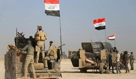 Quan doi Iraq tien vao Mosul - Anh 1