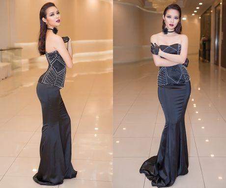 Diep Bao Ngoc chat vat di chuyen voi vay bo goi - Anh 3