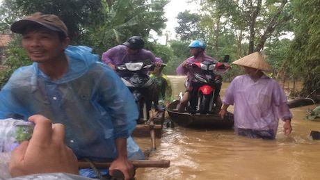 Nguoi dan Ha Tinh hoi ha don do chay lu - Anh 1