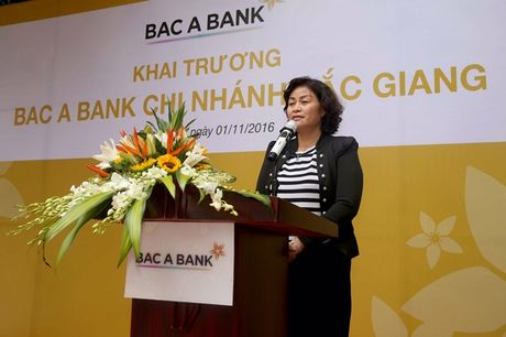 BAC A BANK khai truong Chi nhanh tai Bac Giang - Anh 2