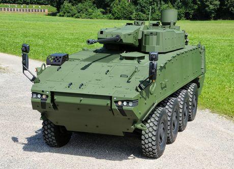 My am tham nang cap 'ngua sat' Stryker - Anh 1