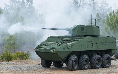My am tham nang cap 'ngua sat' Stryker - Anh 2
