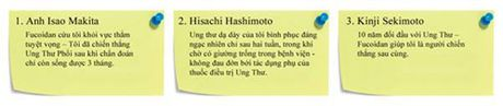 Phuong phap moi giup cai thien chat luong song va day lui ung thu - Anh 3
