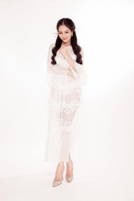 Hoa hau Ao dai Bien Duong Kim Anh dep hut hon voi vay trang tinh khiet - Anh 4