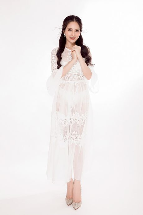 Hoa hau Ao dai Bien Duong Kim Anh dep hut hon voi vay trang tinh khiet - Anh 6